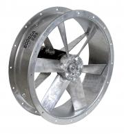 HFW: корпусные осевые вентиляторы с оцинкованным покрытием