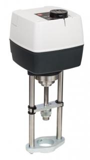 Новый электропривод для работы с  регулирующими клапанами Фото №1