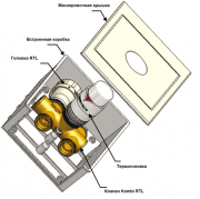 Комбинированный кассетный ограничитель температуры Фото №3