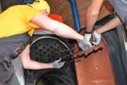 Химическая чистка котла Vitoplex 100 SX1 620 кВт Фото №6