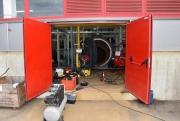Механизированная чистка котла Vitomax 100 2,9 МВт Фото №14