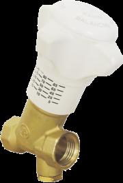 Балансировочные клапаны Giacomini