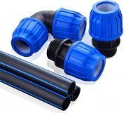 Компрессионные полимерные фитинги HEISSKRAFT