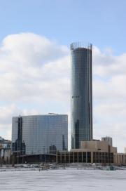 В Екатеринбурге сдали в эксплуатацию башню «Исеть»