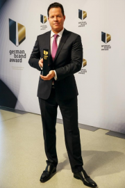 Председатель совета директоров Wilo SE Оливер Гермес (Oliver Hermes) на церемонии награждения