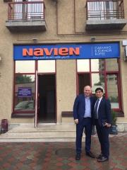 Открылся первый монобрендовый магазин Navien