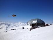 Гора Эльбрус, энергетический проект высота 4200м.  Фото №1