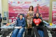 Футбольный День донора LG и «Эльдорадо» Фото №3