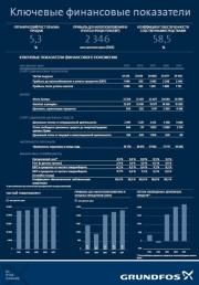 Концерн Grundfos опубликовал финансовые показатели за 2017 год Фото №1