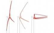 Проект 50-мегаваттного морского ветрогенератора по прототипу пальмы Фото №1