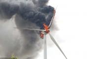 Пожары на турбинах предвещают конец наземной ветроэнергетики Фото №1