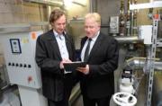 Йенс-Петер Рюккер (слева), управляющий директор Vorwald & Sohn GmbH (Гамбург) и Марко Шиеманн, менед