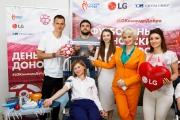 Футбольный День донора LG и Capital Group