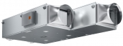 Типоряд компактных подвесных агрегатов включает 5 типоразмеров от 250 м3/ч до 3100 м3/ч