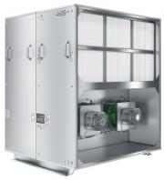 Типоряд компактных стационарных агрегатов включает 8 типоразмеров в диапазоне расхода воздуха от 840