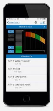 Новое мобильное приложение для управления насосами Фото №2