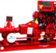 Крупнейший в Европе стенд для пожарных насосов