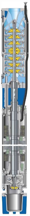Высоконапорные погружные скважинные насосы UPZ Фото №1