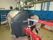Монтаж промышленного котла Vitomax 100-LW тип M148 Фото №7