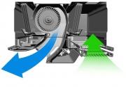 Потолочный кондиционер с подвижными воздуховодами Фото №2