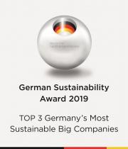 Компания GROHE вошла в тройку лидеров премии German Sustainability Award Фото №1