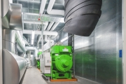 Комбинированный генератор электроэнергии и тепла на заводах GROHE
