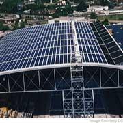 Проект кровельных солнечных батарей