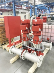 «Грундфос» обновил модельный ряд установок пожаротушения