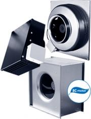 Ostberg расширяет моделb вентиляторов с ЕС-