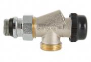 Угловой термостатический клапан с осевым уплотнением