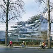 Китайско-итальянское энергосберегающее здание в Китае