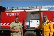 Пожарная команда оборудовала свою машину холодильником