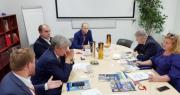 Встреча представителей «Грундфос» и ГКУ «Энергетика»