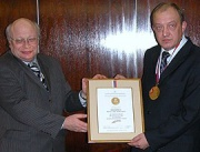 """Директор """"Арктос"""" награжден медалью."""