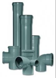 Гладкая наружная канализация из полипропилена