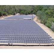 Солнечную энергосистему установили на насосной станции