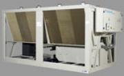 Плавное управление производительностью представлено на чиллерах с винтовым компрессором Daikin.