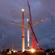Германия построила самый большой в мире ветрогенератор
