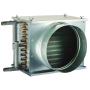 Водяной нагреватель НВ для круглых систем вентиляции