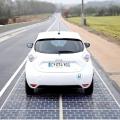 В США построили дорогу на солнечных батареях
