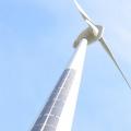 Как обшить солнечными панелями ветрогенератор?
