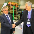 Директор дивизиона Системы Геллера GEA EGI г-н Янош Сита и директор департамента «Энергетика и судостроение» ГЕА Машимпэкс г-н Павел Дмитриев