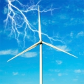 Доказана связь между ветрогенераторами и молниями