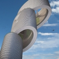 В Роттердаме собитраются построить небоскреб-электрогенератор