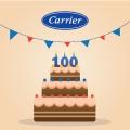 100-летний юбилей климатической компании Carrier
