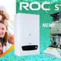 Новая модель настенного котла ROC STYLE
