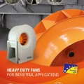Новые вентиляторы «HEAVY DUTY» для промышленного применения