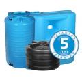 Гарантия 5 лет на пластиковые баки «Акватек. Все для воды»