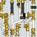 Инновационный тепловой пункт KaMo WK-VRV  для трехтрубных  систем