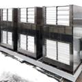Система охлаждения серверных станций на базе канальных сплит-систем